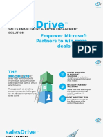 sales enablement for microsoft partners with teamfusion salesdrive
