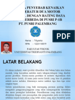 Analisa Temperatur Dua Motor Pararel Dengan Rating Daya Revisi 2