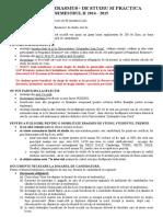 Anunt Selectie PRACTICA_ 2014-2015_II