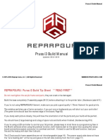 RepRapGuru Prusa i3 Build Manual V1.4