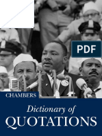 Dictionary of Quotations(Chambers)
