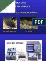 Presentation Electrophysiologie