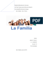 Actividad 3 Trabajo La Familia