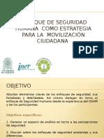 SH Como Estrategia Para La Mov-ciudadana-Formación Talleristas
