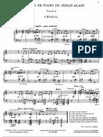 Alain - L'Ouvre de Piano
