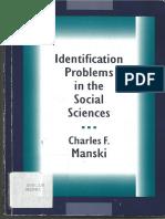 Manski, Identification Problems in the Social Sciences . Cap.2