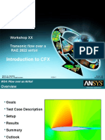 CFX13 Workshop XX RAE Airfoil