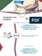 Choisissez votre échangeur d'air Lifebreath