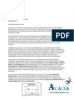 Fundación Arcadia (Caso Venezuela)