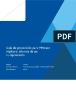 14-12-16 Guía de Protección Para VMware VSphere Informe de No Cumplimiento Cluster