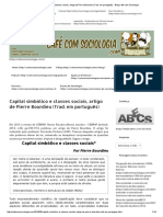 Capital simbólico e classes sociais, artigo de Pierre Bourdieu (Trad.pdf