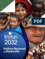 Politica Nacional Del Desarrollo