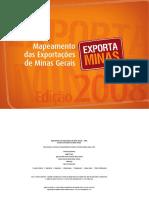 Mapeamento Das Exportacoes 2008