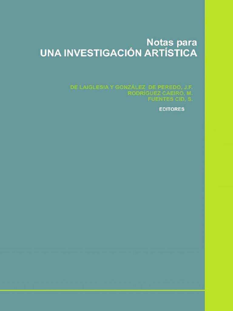 AA.VV. - Notas para una investigacion artistica.pdf