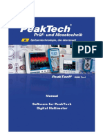 PeakTech DMM Tool Manual En