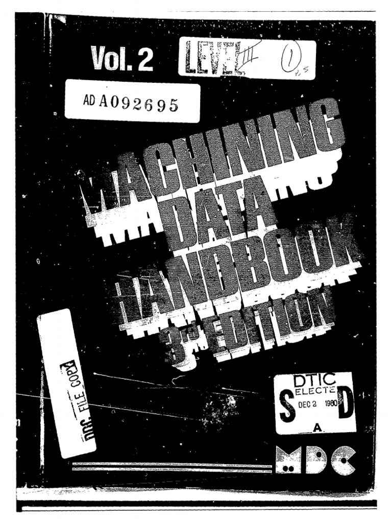 Machining Data Handbook | Cast Iron | Grinding (Abrasive Cutting)