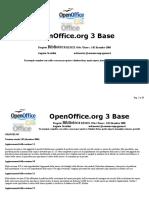 Biblioteca Remix Openoffice.org 3 Base Con Macro