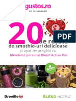Carte de Retete Smoothie