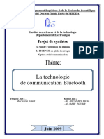 Le Technologie de Communication Bluetooth