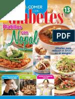 Vivir y Comer Con Diabetes 13 - Platillos Con Nopal