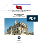 Durham Campaign Finance Audit