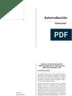 Modelo Autoevaluación Cun 2015