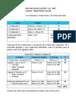 Propuesta de evaluación 2017