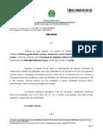 Decisão de juiz do DF suspende nomeação de Moreira Franco para Ministro