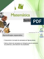 Clase 14 Criterios de Semejanza de Triángulos 2016 (1)