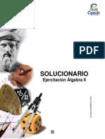 Solucionario Cuadernillo Algebra II 2016