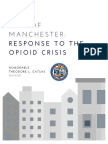 Manchester's Response to the Opioid Crisis 2016