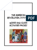 American Revolution Packet