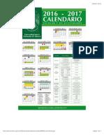 Calendario Escolar UJAT