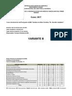 p1 1er Periodo Mgi Venezolano 2017 Variante b