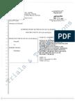 Robert Durst Case Motion to Admit Special Master