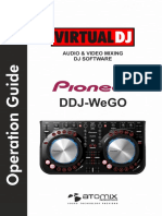 Pioneer DDJ-WeGO VirtualDJ 8 Operation Guide