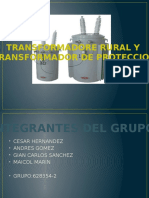 Transformadores Rurales y de Proteccion