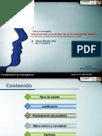 PREMISAS PRINCIPALES DE LA INVESTIGACION SOCIAL