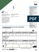 Dse705 Data Sheet (Usa)