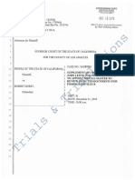 Robert Durst People's Motion Supplemental Declaration