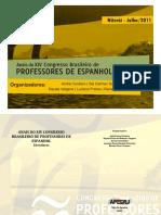 Anais Congresso Brasileiro de Professores de Espanhol 2011