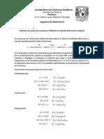 Problema de Ajuste de Ecuaciones LHHW Por El Método Diferencial e Integral