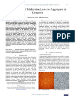 Assessment of Malaysian Laterite Aggregate in Concrete