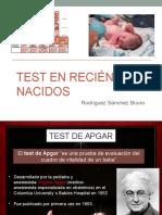 Test en Recién Nacidos