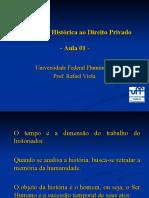 Introdução Histórica ao Direito Privado