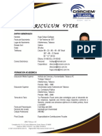 Curriculum Vitae HSG 2016