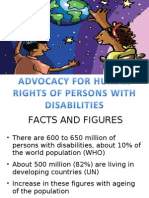 Advocacy for Rights of Persons With Disabilities