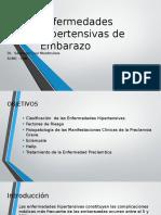 Enfermedades Hipertensivas Del Embarazo Presentacion Final