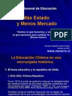 POWER POINT HISTORIA DE LA EDUCACION EN CHILE - FIN AL LUCRO - MAYO 2008
