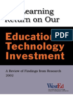 The Learning Return On Our Educational Technology Investment